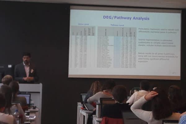 Bioinformatics Analysis of TempO-Seq Data Via Sciome's GENIE Workflow Presented at EU-ToxRisk Workshop in Netherlands