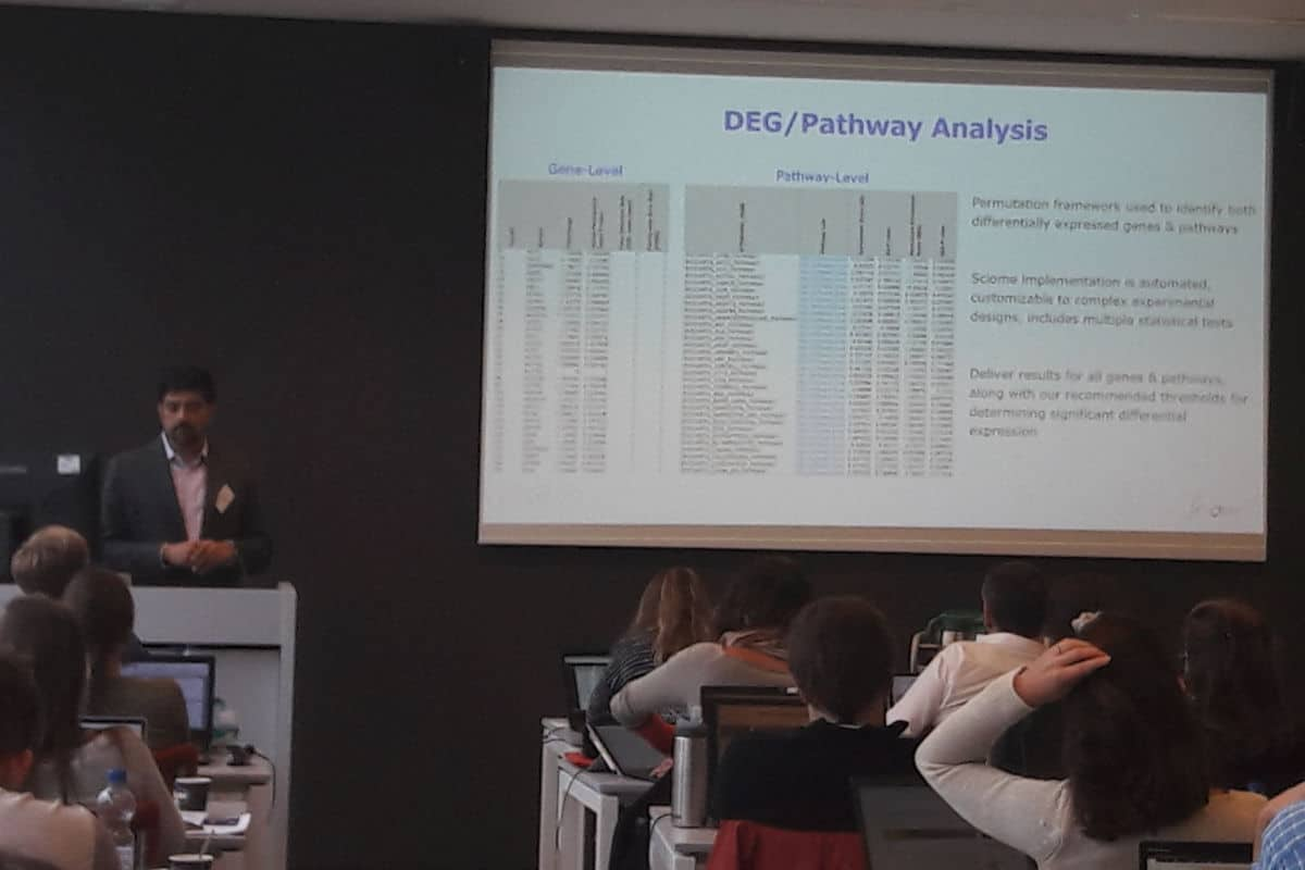 Bioinformatics Analysis of TempO-Seq Data Via Sciome's GENIE Workflow Presented at EU-ToxRisk Workshop in Netherlands